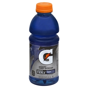 Pepsico Gatorade Fierce Grape Drink - 20 Oz.