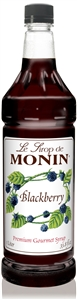 Monin Blackberry Flavor Syrup - 1 Liter