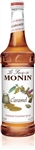 Monin Caramel Flavor Syrup Glass - 750 Ml.