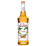 Monin Vanilla Flavor Syrup Glass - 750 Ml.