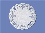 Smith Lee French Lace Doily - 5 in.