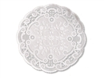 Smith Lee French Lace Doily - 6 in.
