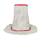 O-Cedar Large Looped Cotton White Mop - 19 in. x 7 in. x 15 in.