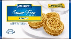 Kelloggs Keebler Sugar Free Lemon Cream Cookie