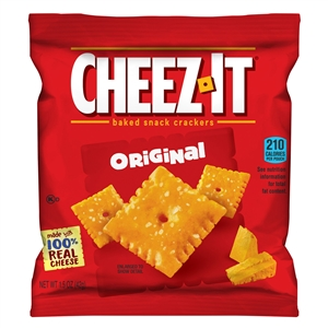 Kelloggs Sunshine Cheez It Original Cracker - 1.5 Oz.