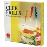 Goldmax Wooden Club Frills Pcik - 4 in.