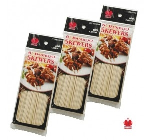 Goldmax Bamboo Skewers - 6 in.
