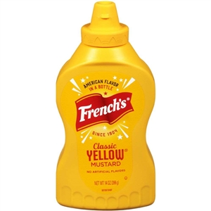 Frenchs Classic Mustard Yellow Squeeze - 14 Oz.