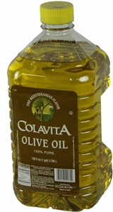 Colavita Pure Olive Oil Plastic Bottle - 1 Gal.