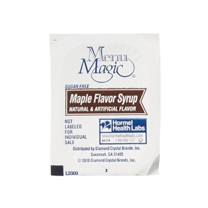 Hormel Menu Magic Reduced Calories Maple Syrup - 1 Oz.