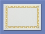 Smith Lee Greek Key Budget Placemat 9.5 in. x 13.5 in.