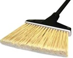 O-Cedar Maxi Plus Flagged Angle Broom - 57 in. x 12 in. x 4 in.