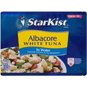 Tuna Starkist Chunk White Pouch - 43 Oz.