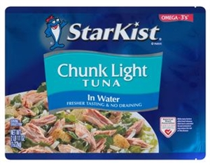 Heinz Starkist Chunk Tuna Light Pouch - 43 Oz.