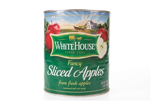 Canned White House Sliced Apple
