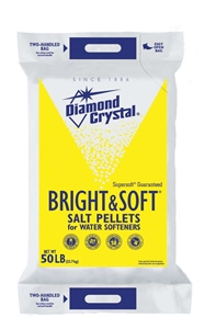 Water Conditioning Diamond Crystal Pellets - 50 Lb.