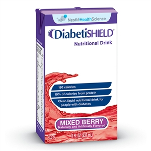 Nestle Healthcare Resource Diabetishield Mixed Berry - 8 Oz.