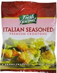 Sugar Foods Fresh Gourmet Italian Seasoned Croutions 0.5 Oz.
