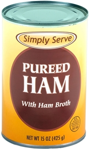 Vanee Foods Simply Serve Ham Pureed - 15 Oz.