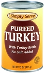 Pureed Turkey with Turkey Broth - 15 Oz.