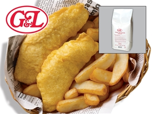 Kerry G and L Krispy Fry Batter - 5 Lb.
