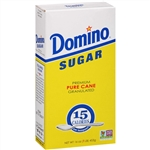 Sugar and Sugar Domino Granulated Retail Sugar - 1 Lb.