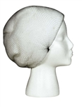 Cellucap Disposable Nylon Hairnet Black 28 in.