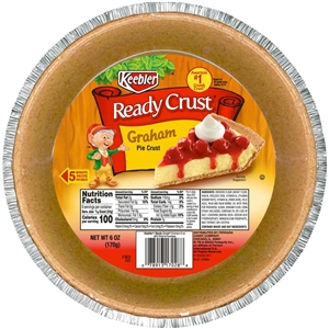Kelloggs Keebler Ready Crust Graham Pie Shell - 9 in.