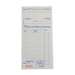 National Checking Carbonless 3 Part Delivery Form White