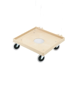 Vollrath Plastic Dish Rack Dolly - 20 in. x 20 in.