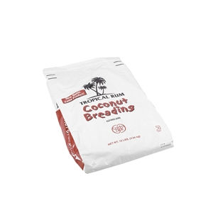 Kerry Tropical Rum Coconut Breading Coating - 10 Lb.