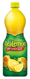 Motts Realemon Juice Bottle - 32 Oz.