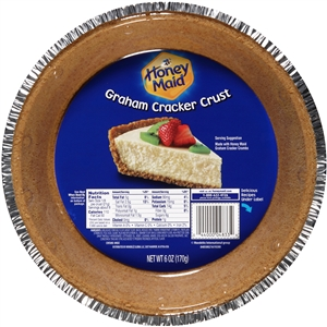 Kraft Nabisco Honey Maid Graham Cracker Crust - 6 Oz.