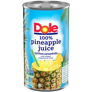 Dole Pineapple Juice - 6 Oz.