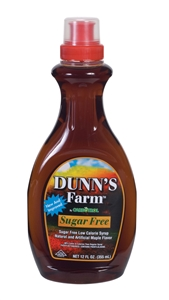 Leahy IFP Dunns Farm Maple 12 oz. Low Calorie Syrup