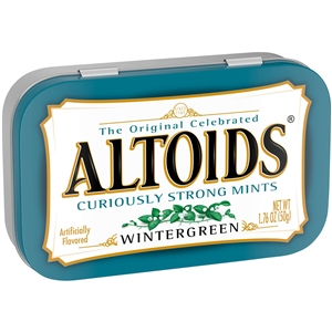 Wrigleys Altoids Wintergreen Mint - 1.76 Oz.