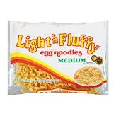 New World Light N Fluffy Medium Egg Noodles Pasta - 12 Oz.