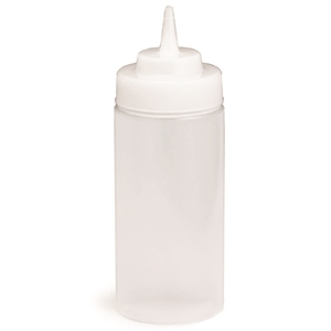 Wide Mouth Wide Tip Squeeze Dispenser Natural - 16 Oz.
