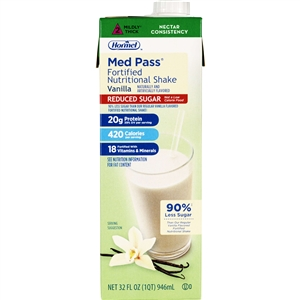 Hormel Med Pass 2.0 Vanilla No Sugar Added - 32 Oz.