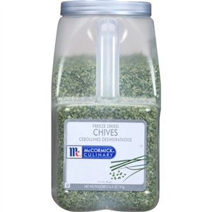 McCormick Spice Freeze Dried Chives 6.4 oz.