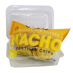 Gehls Plastic Tray With Tortilla Chips - 3 Oz.