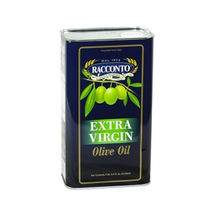 Racconto Extra Virgin Olive Oil Tin - 3 Liter