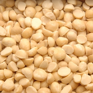 Azar Halves and Pieces Macadamia Nut 5 Pound Raw Snack