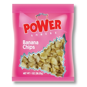 Fruit Banana Chips Sweet and Crunchy - 1 Oz.
