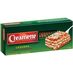 New World Creamette Lasagna Pasta - 16 Oz.