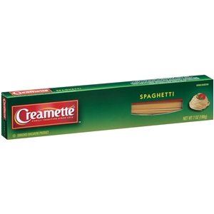 New World Creamette Spaghetti Pasta - 7 Oz.