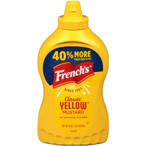 Mustard French's Classic Yellow Squeeze - 20 oz.