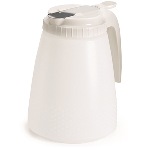 All Purpose Dispenser Polyethylene White Top - 48 Oz.