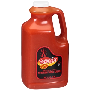 T W Garner Texas Pete Chicken Hot Wing Sauce - 1 Gal.