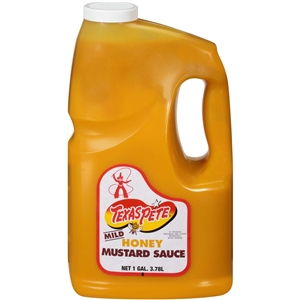 T W Garner Texas Pete Honey Mustard Sauce - 1 Gal.